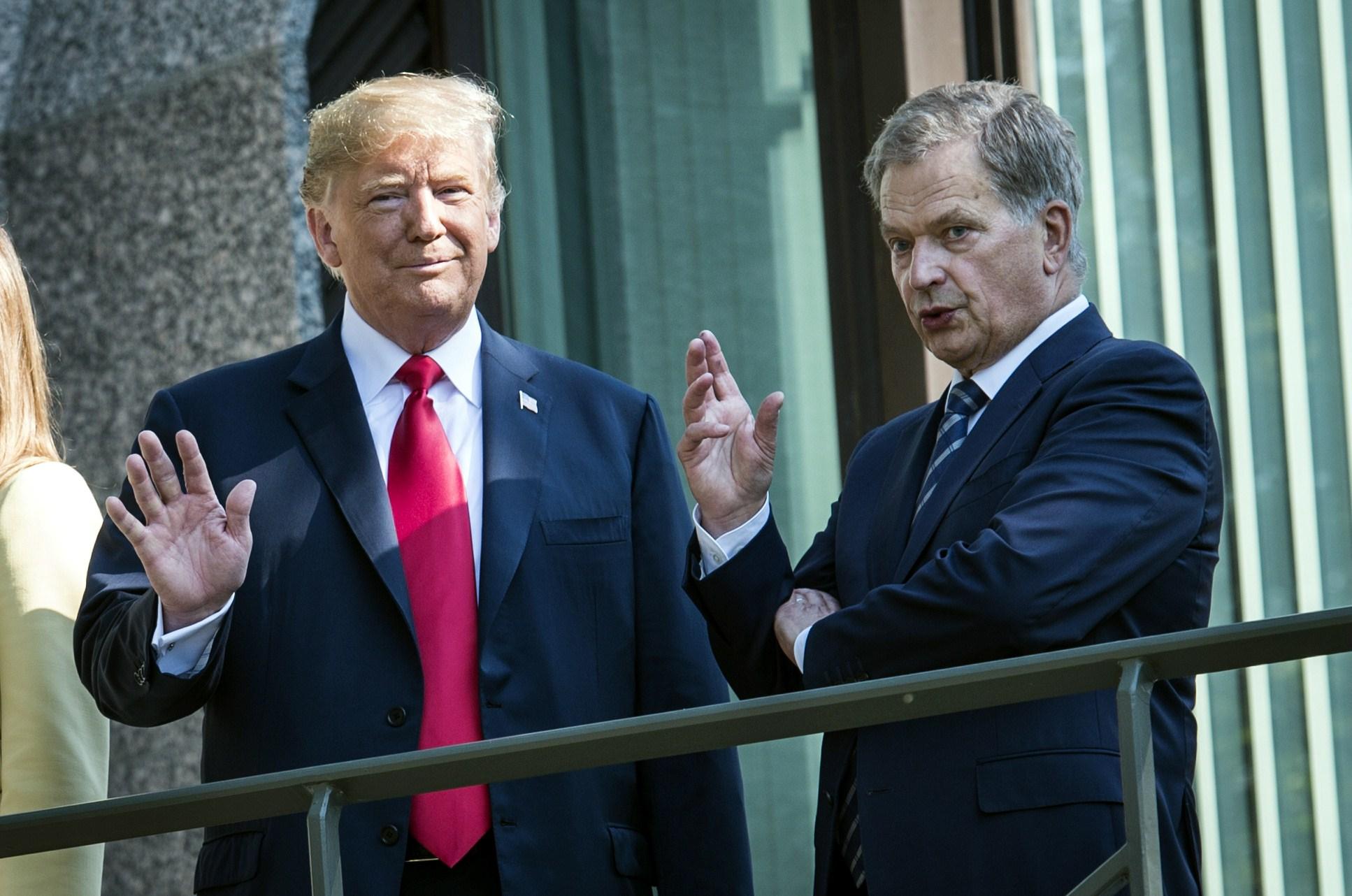 Emmi Korhonen-Trump ja Niinistö