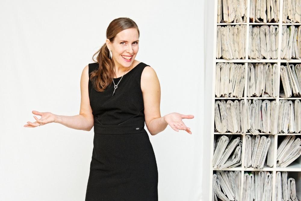 Heidi Ekdahl-Kymen Sanomat